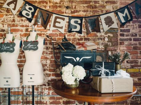 How to Make a Faux-Leather Steampunk-Style Party Banner