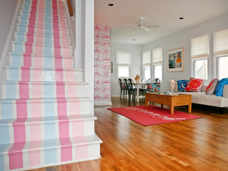7 Staircases Painted To Perfection