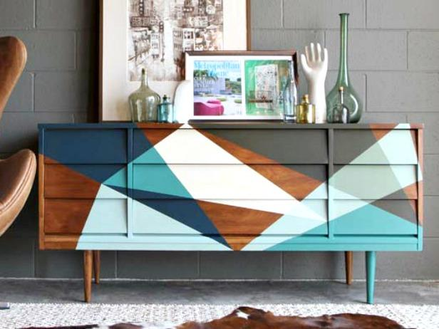 How To Strip And Refinish A Midcentury Mod Credenza How