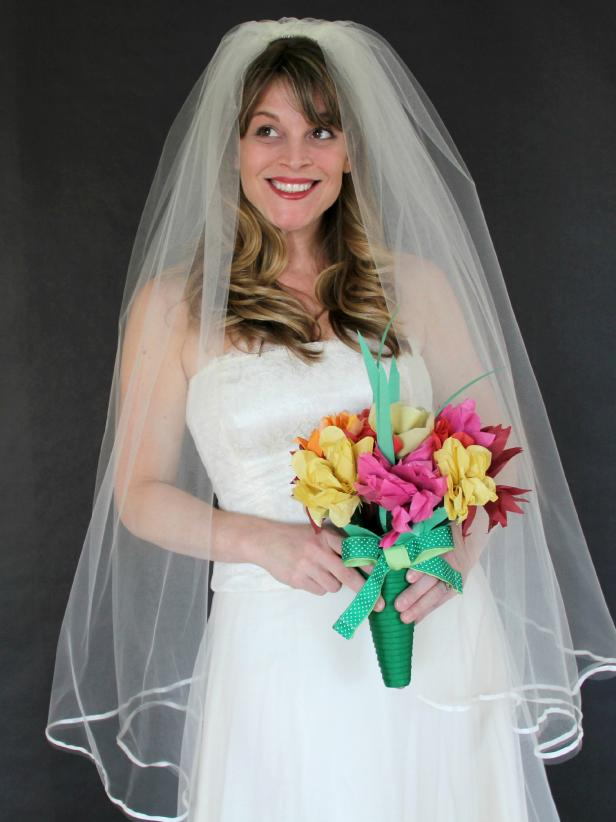How To Make A Classic Wedding Veil How Tos Diy