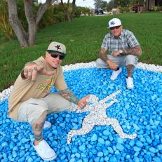 Vanilla Ice With Wes And Logo