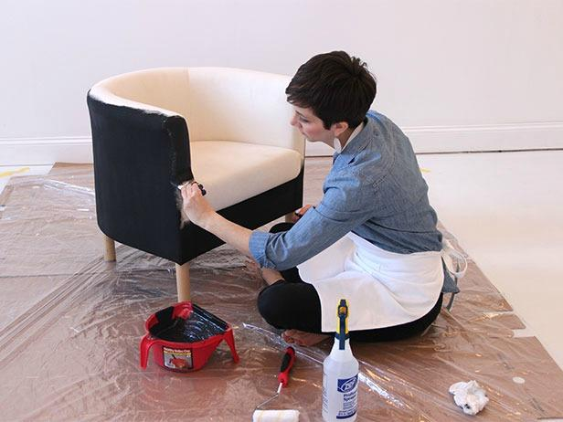 IKEA-Hack-Painting-Fabric-Chairs-maderemade