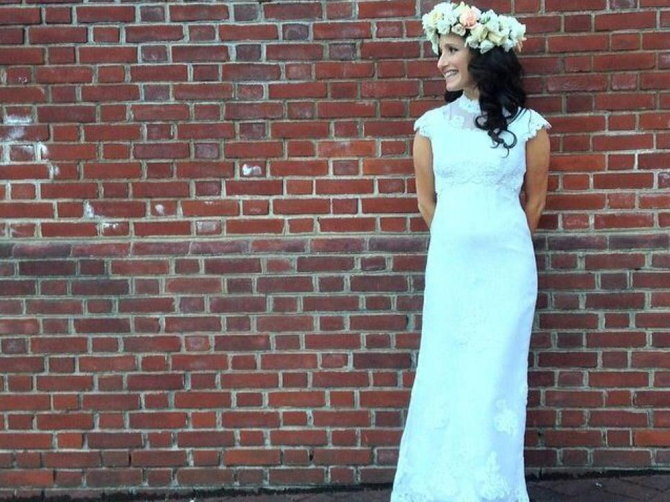 How to bring an old wedding dress back to life | DIY