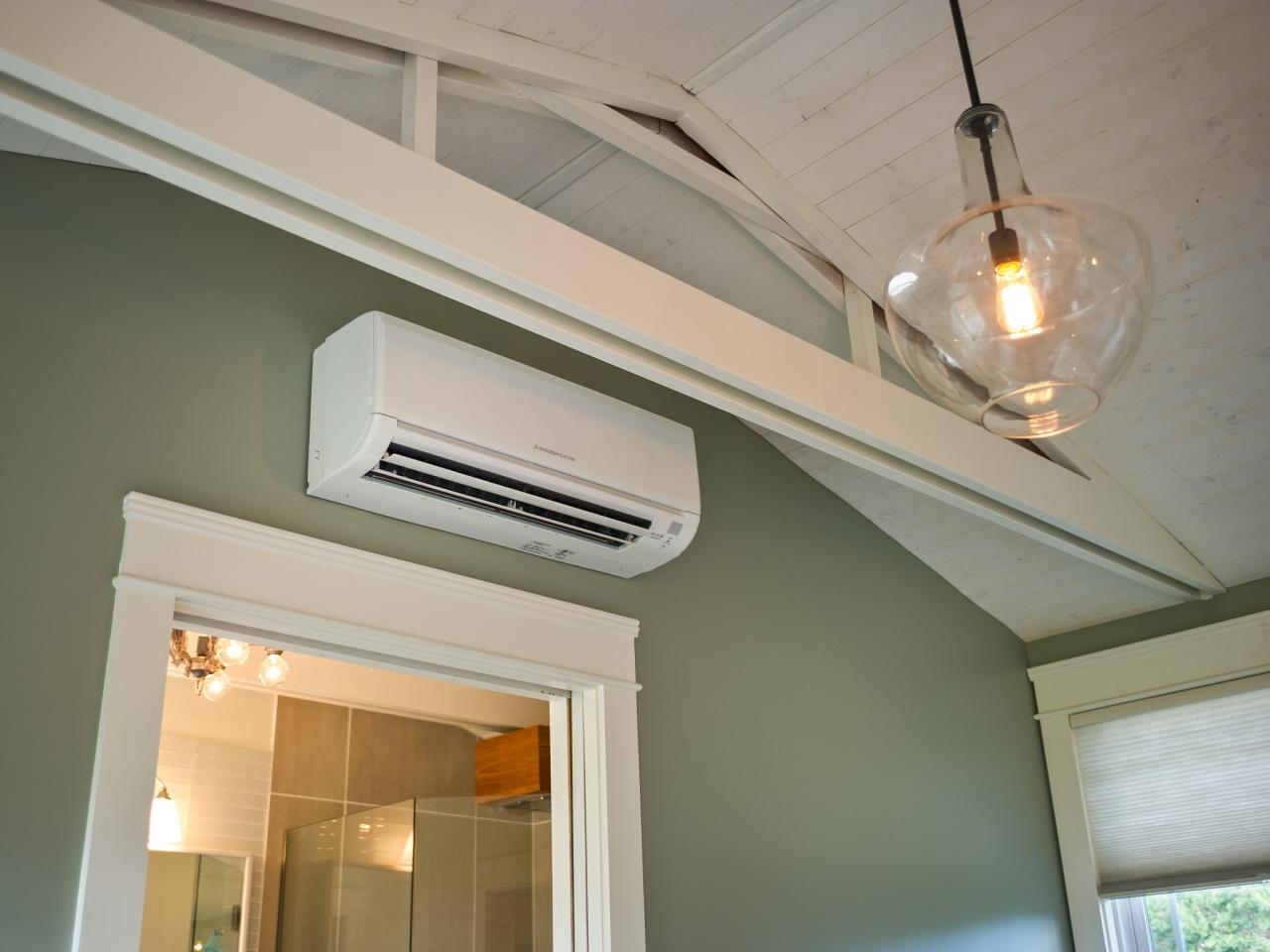 Mitsubishi Air Conditioner Over Door
