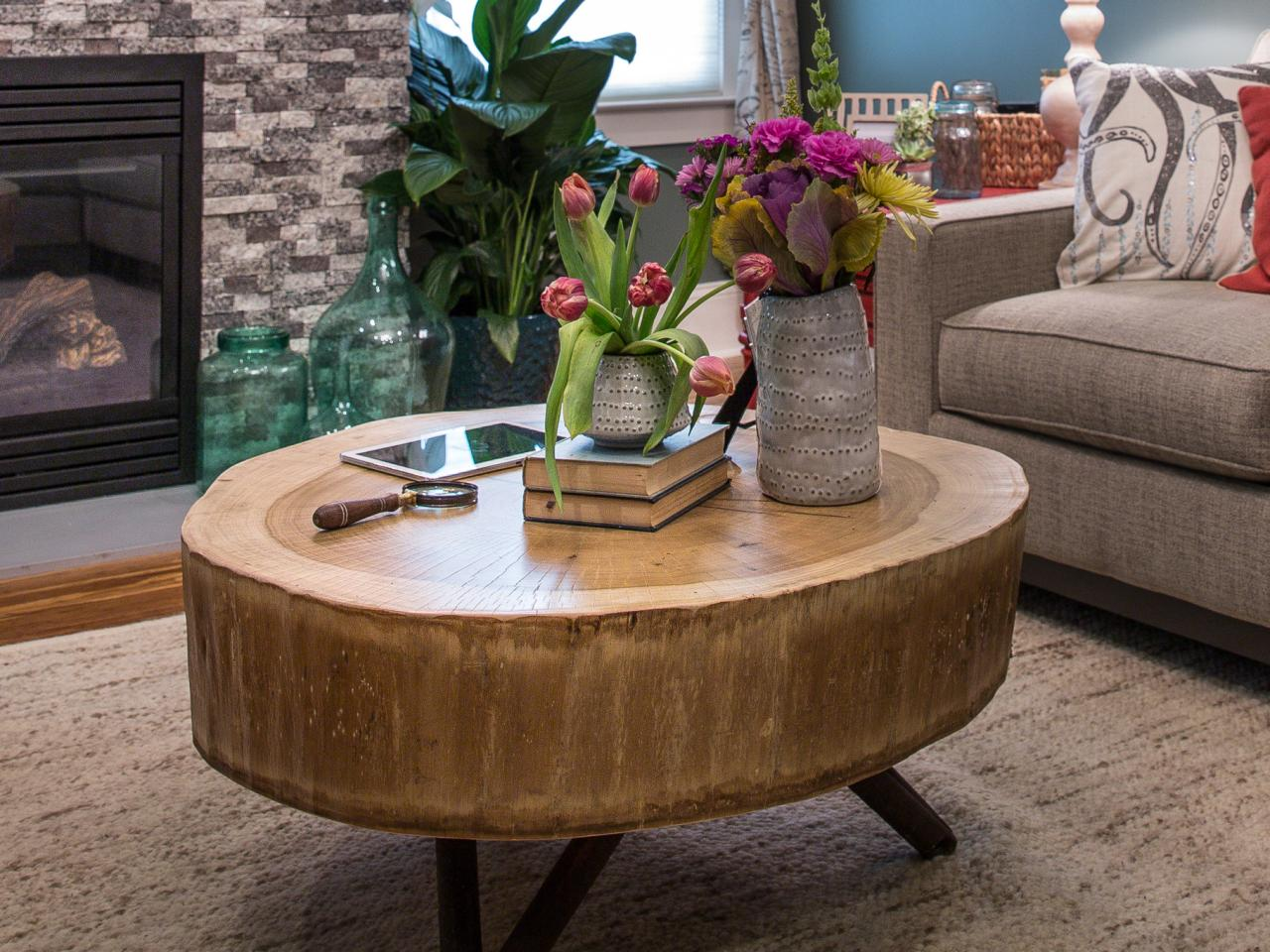 How To Build A Stump Coffee Table Tos Diy