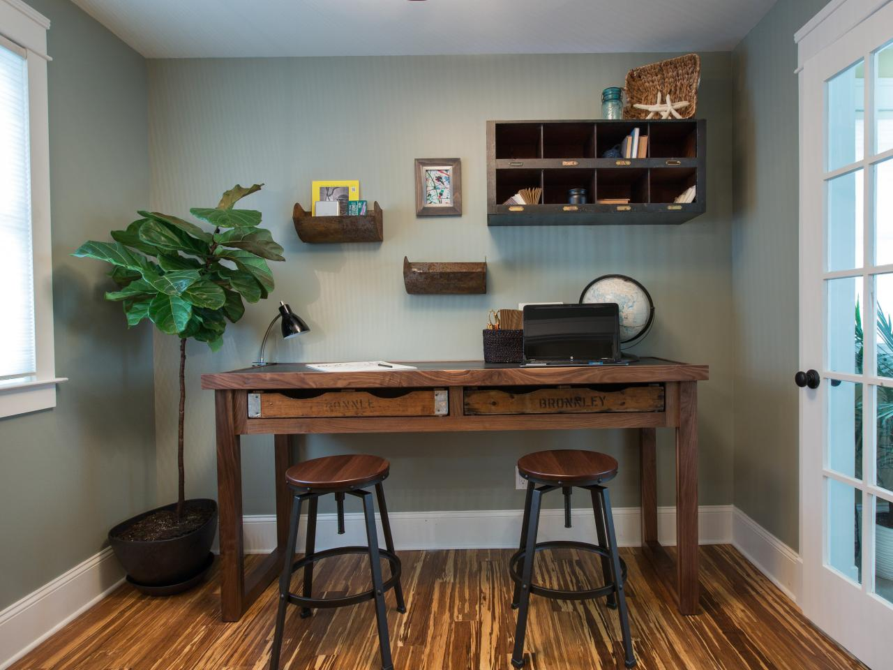 Office Desk Ideas How To Build a Rustic Office Desk