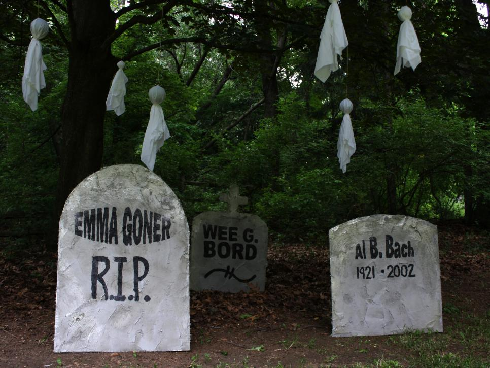 Halloween Decorations: Funny Tombstone Names and Epitaphs