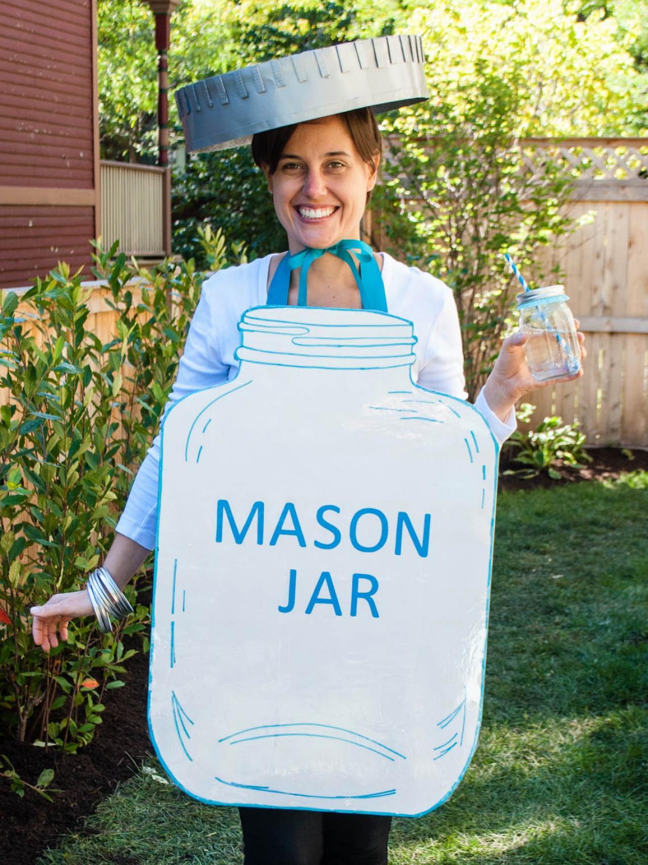 diy mason jar halloween costume | how-tos | diy