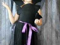 A Classic Halloween Witch Costume with Hat