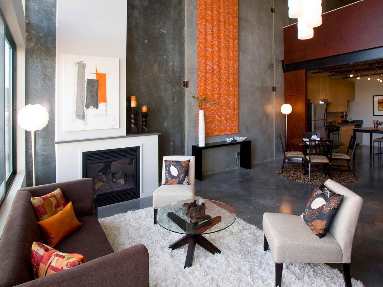 Neutral Alternatives To Beige Diy Network Blog Made Remade. C Wall Sconce Living  Room Orange ...