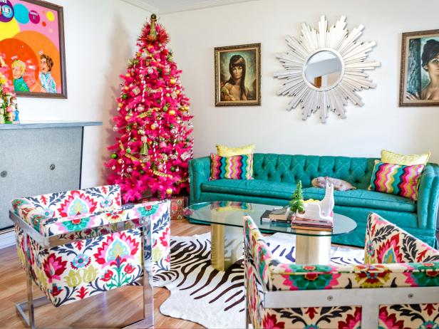 Christmas Colors Palette.Non Traditional Holiday Color Palettes Hgtv S Decorating
