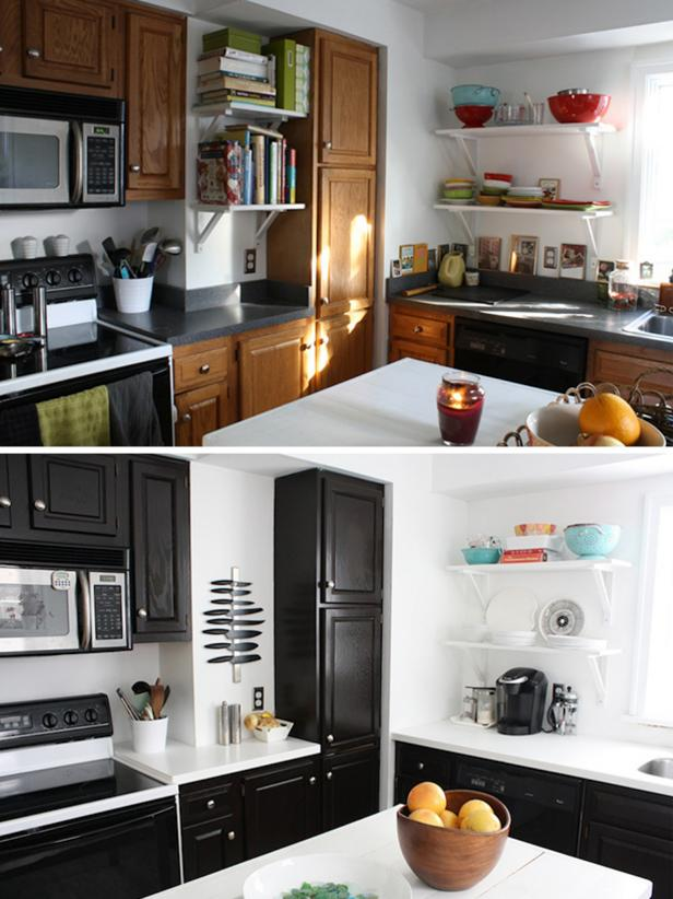 Refinish Kitchen Cabinets 3 Simple Ideas
