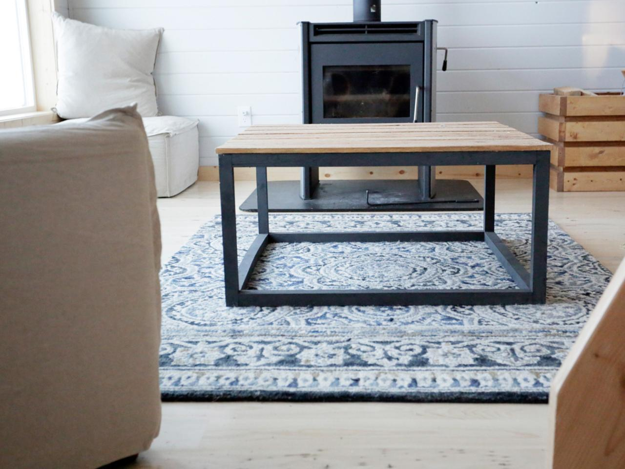 How to Build a Modern Industrial Coffee Table howtos DIY