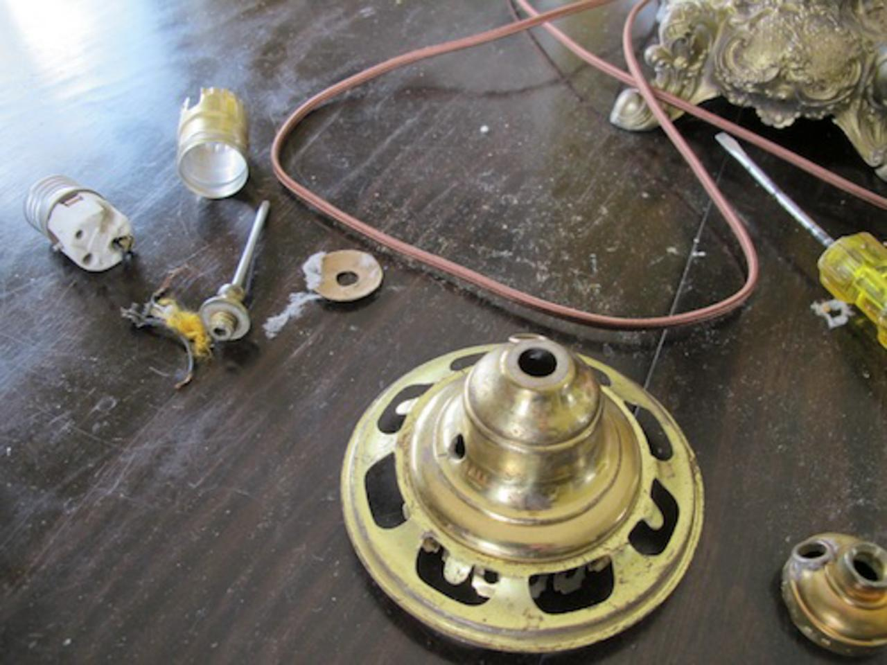 Outstanding How To Rewire A Vintage Lamp Diy Network Blog Made Remade Diy Wiring Digital Resources Remcakbiperorg