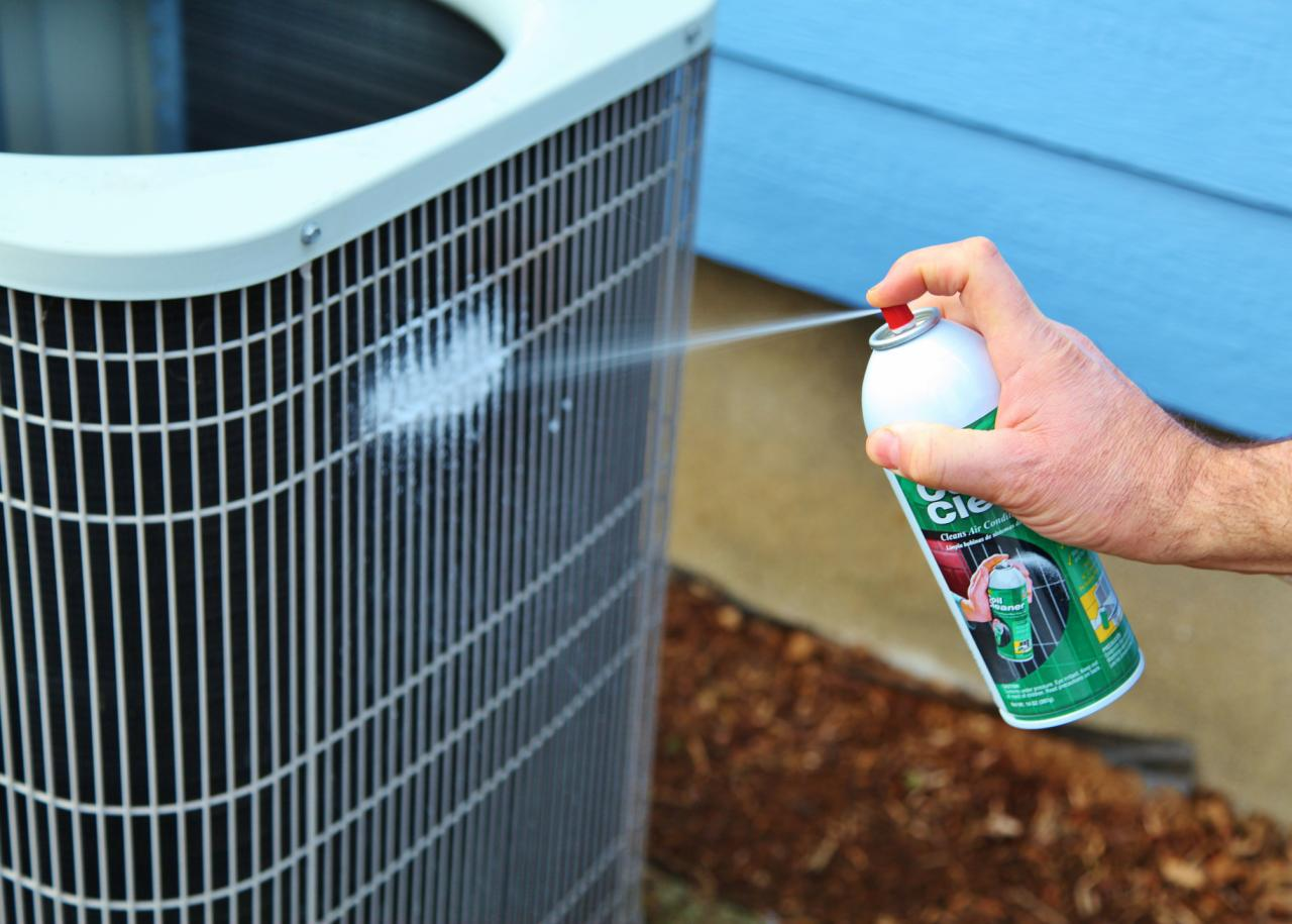 Essential maintenance for an air conditioning unit how for Ac condenser pad installation