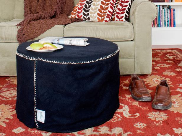 Terrific Diy Foot Stool Project How Tos Diy Ocoug Best Dining Table And Chair Ideas Images Ocougorg