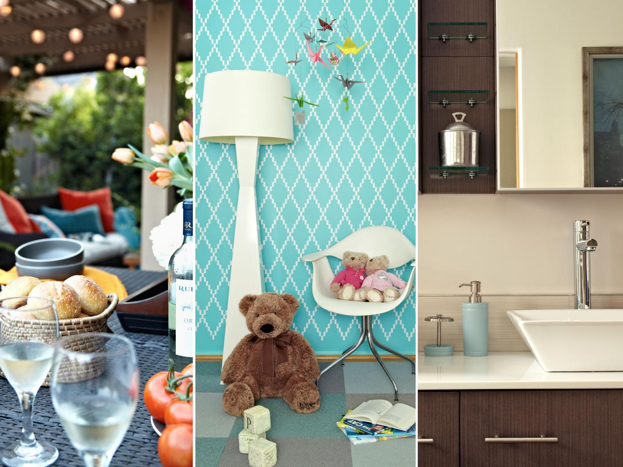 Remodeling a Master Bathroom, Nursery and Outdoor Space for Twins | DIY