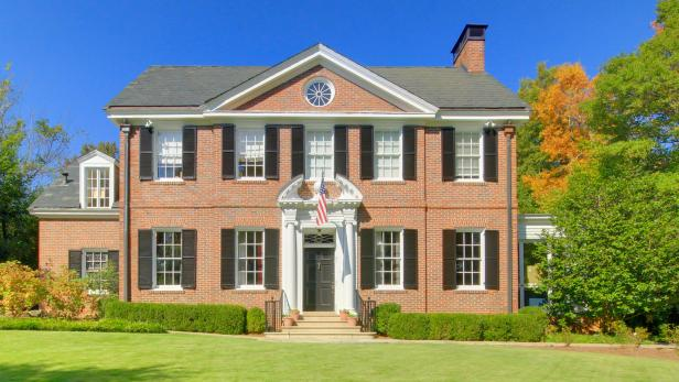 Traditional Brick Home with Landscaped Yard
