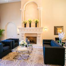 Elegant Great Room From The Vanilla Ice Project