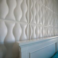 Leather Cushion Headboard Wall From The Vanilla Ice Project
