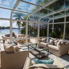 Breathtaking Sunroom From The Vanilla Ice Project