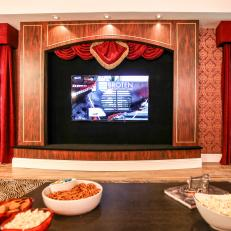 Custom Built Home Theater Center From The Vanilla Ice Project