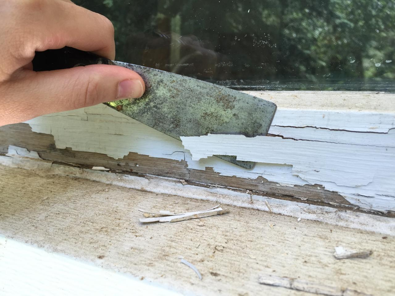 Painting Wood Windows Exterior