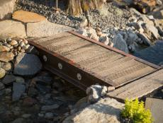 Get step-by-step instruction from DIY Network experts for building an industrial-style bridge.