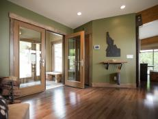 French Doors Enhance Open Space
