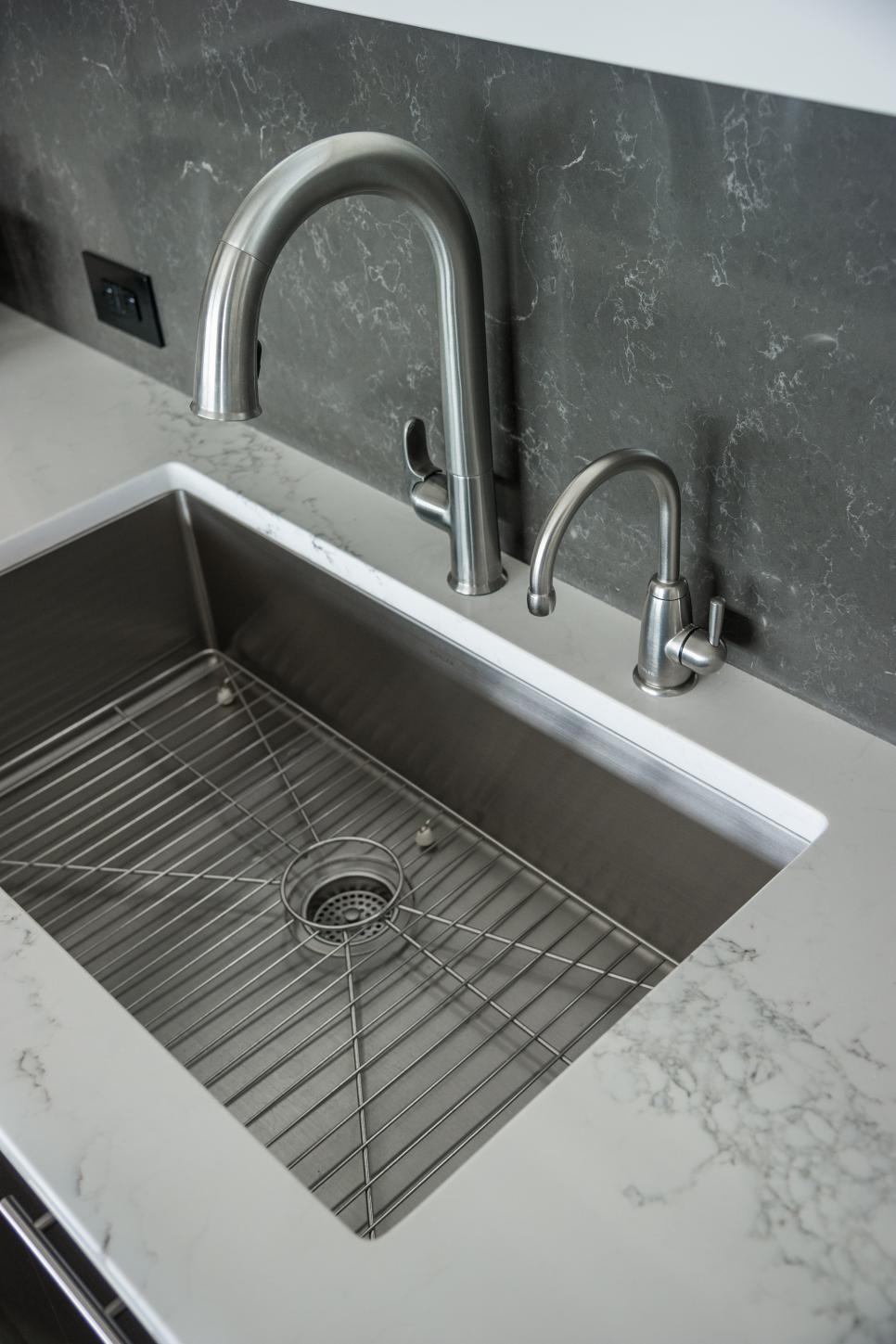 stainless steel sink for kitchen kitchen pictures from diy network cabin 2015 diy 8294