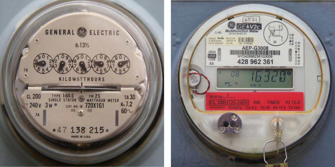 Get To Know Your Homes Electrical System Diy Section Three Installation Most Electric Meters Are Mechanical But Some Newer Digital