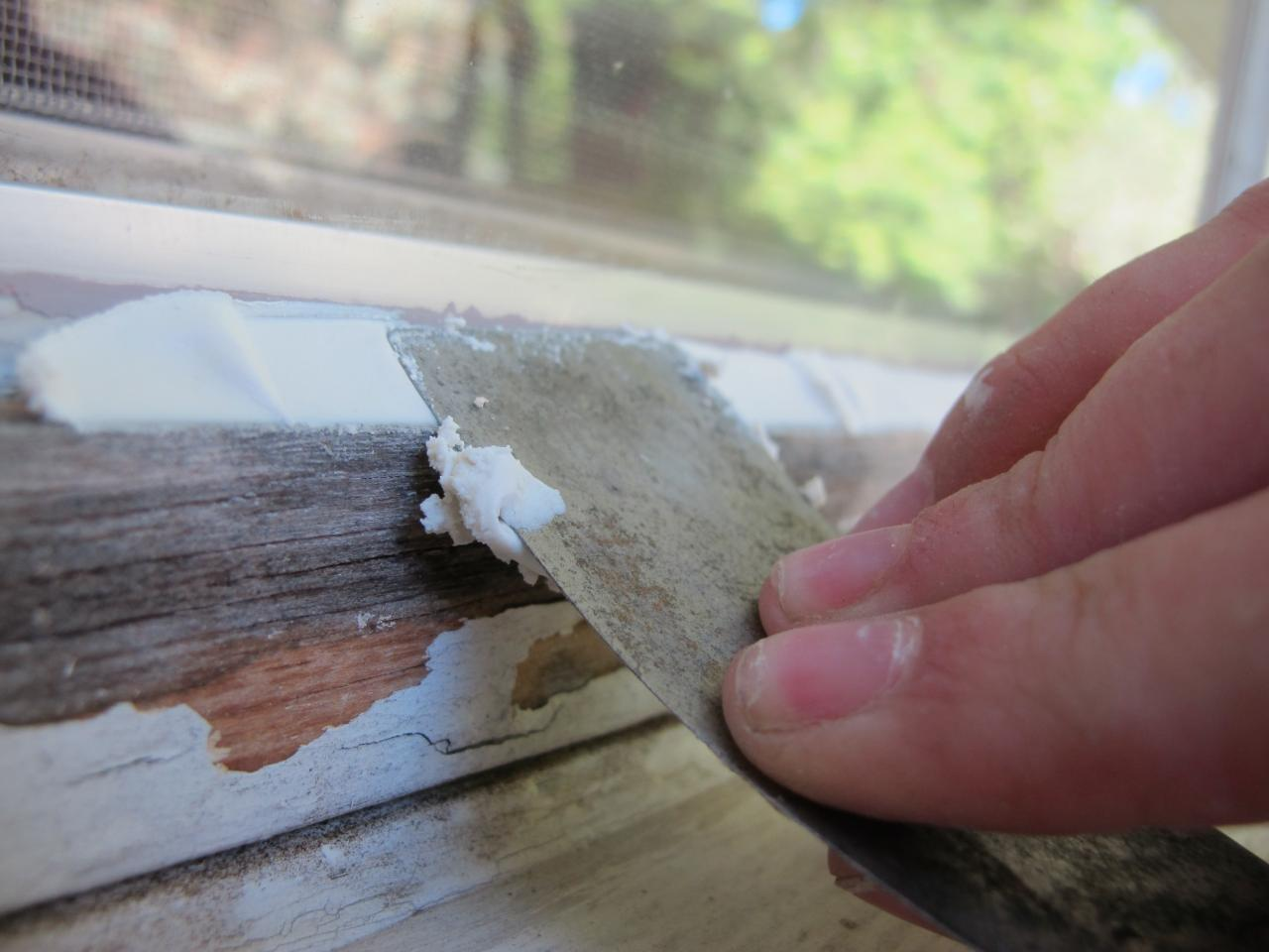 Learn How to Paint a Window Exterior howtos DIY