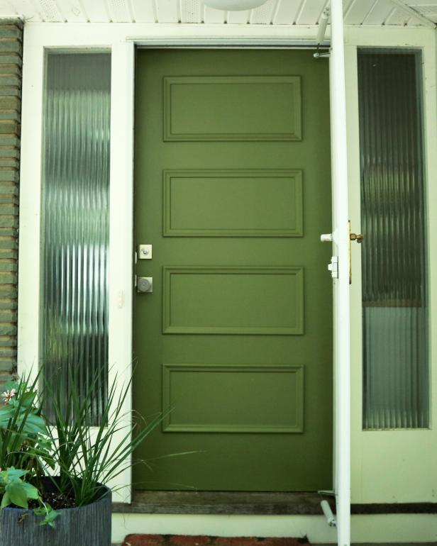 Learn how to paint your front door how tos diy Best varnish for exterior doors