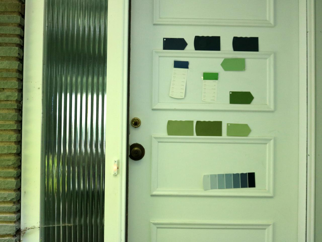 Learn how to paint your front door how tos diy step 1 rubansaba