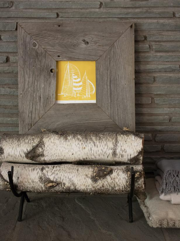 How to Make a Custom Rustic Barn Wood Frame