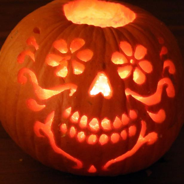 How to carve a pumpkin diy network made remade