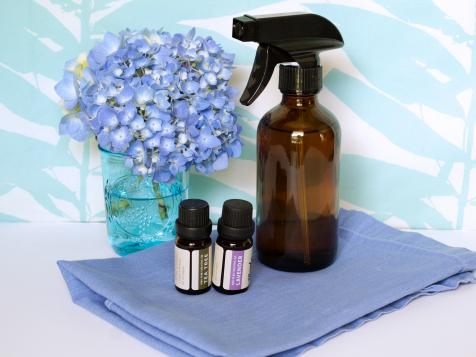 Easy Essential Oil Disinfecting Spray