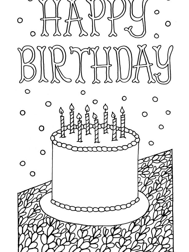- Free Downloadable Adult Coloring Greeting Cards DIY