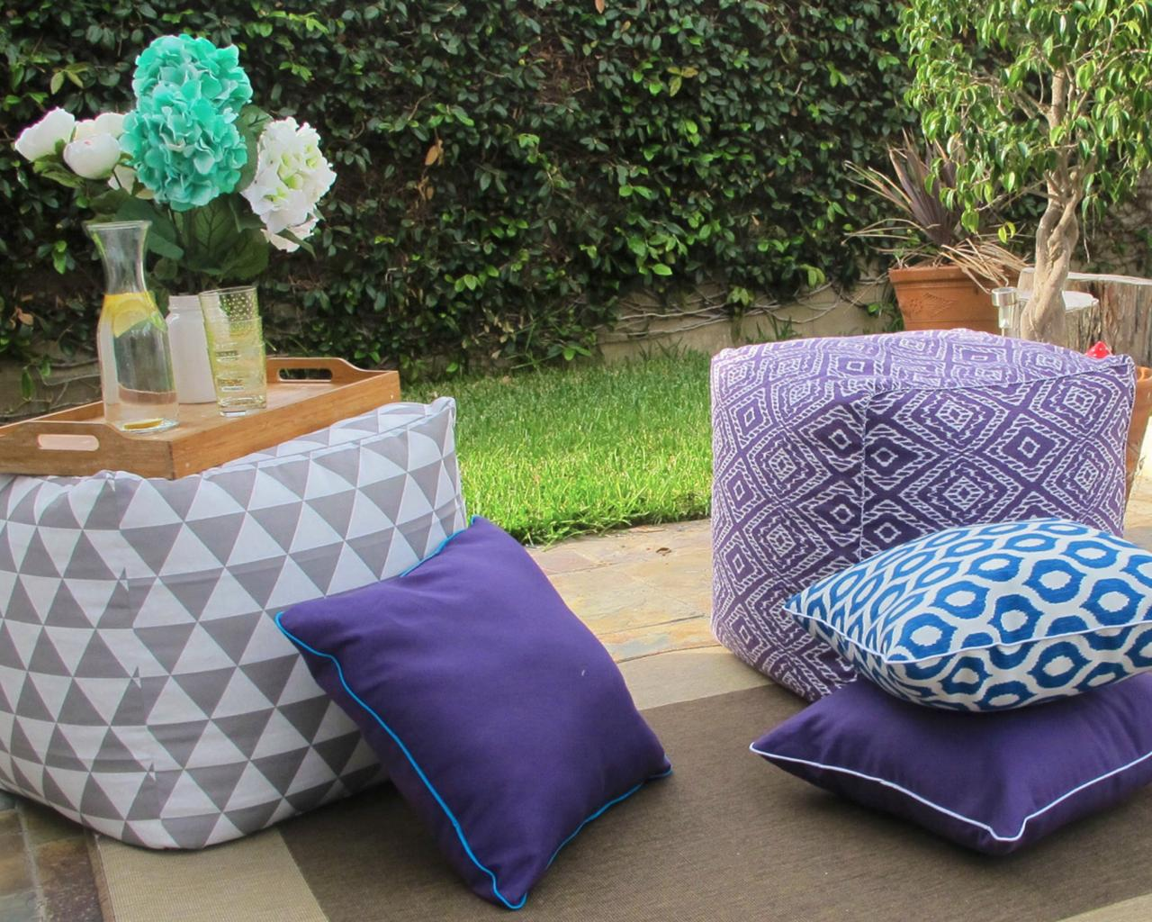 How to Make Outdoor Pillows and Cushions | Sponsored How-Tos ...