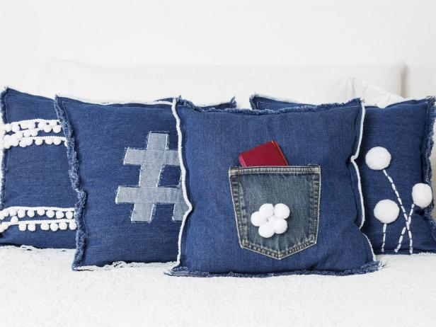 Cool Kids Denim Pillows
