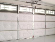 How To Insulate A Garage Door ...