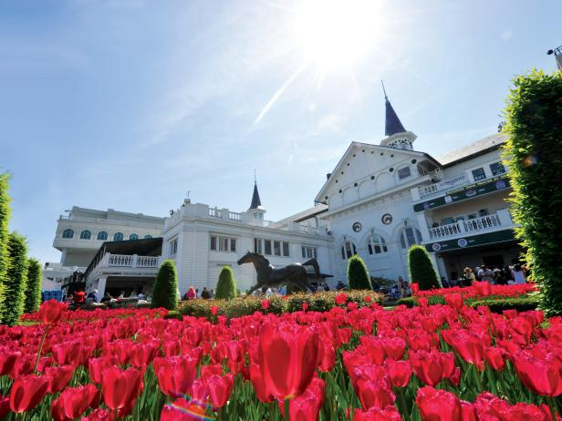 Churchill Downs Garden Spires