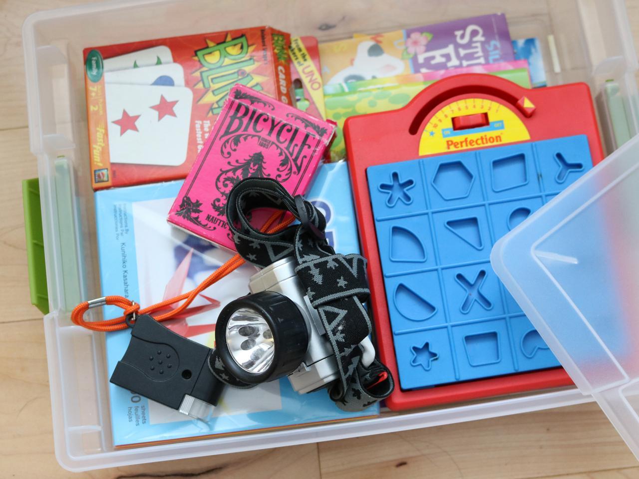 Toys For Travel : Make personal emergency kits hgtv