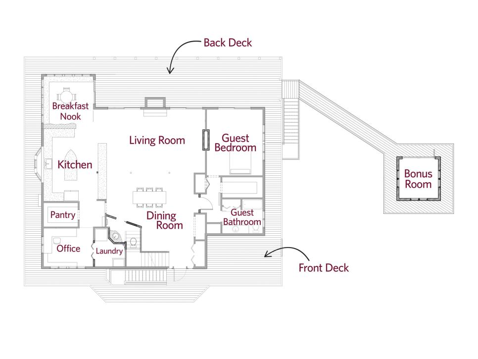 Floor plans from diy network blog cabin 2016 behind the for Diy home floor plans