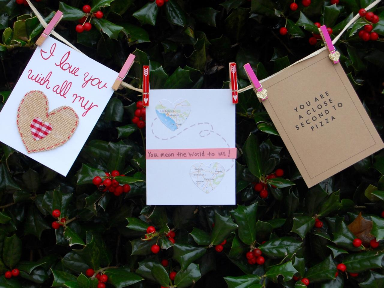 easy homemade valentine s day cards diy network blog made