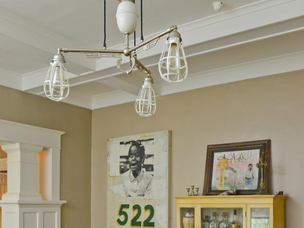 Recycled Light Fixtures | DIY Network Blog: Made + Remade | DIY