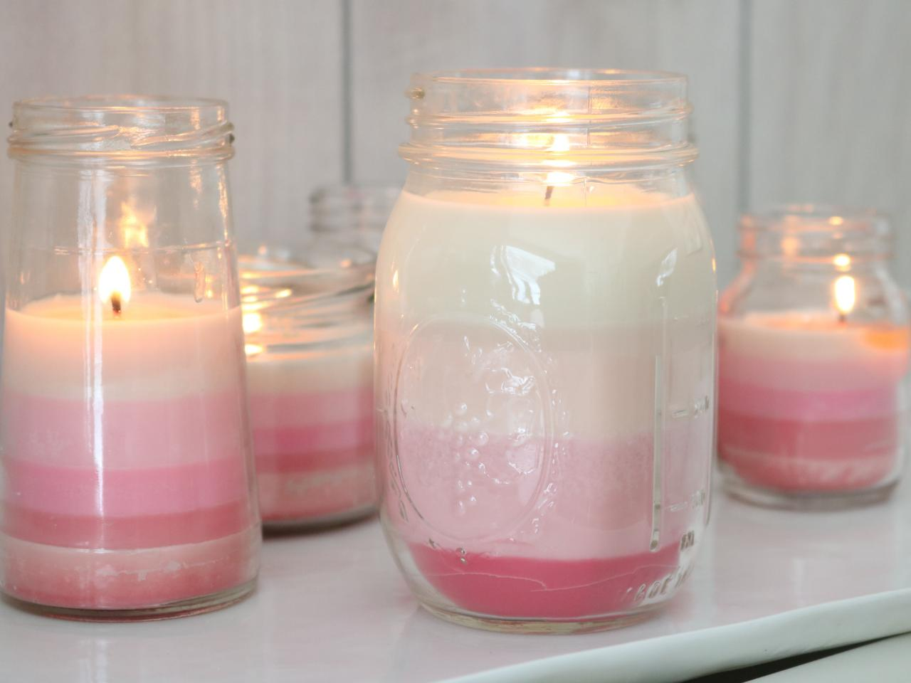 Ombre Candles Bring The Chic To Your Valentineu0027s Day