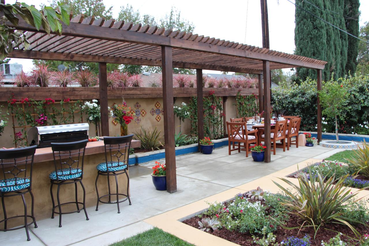 Backyard With Pergola photos | i hate my yard | diy