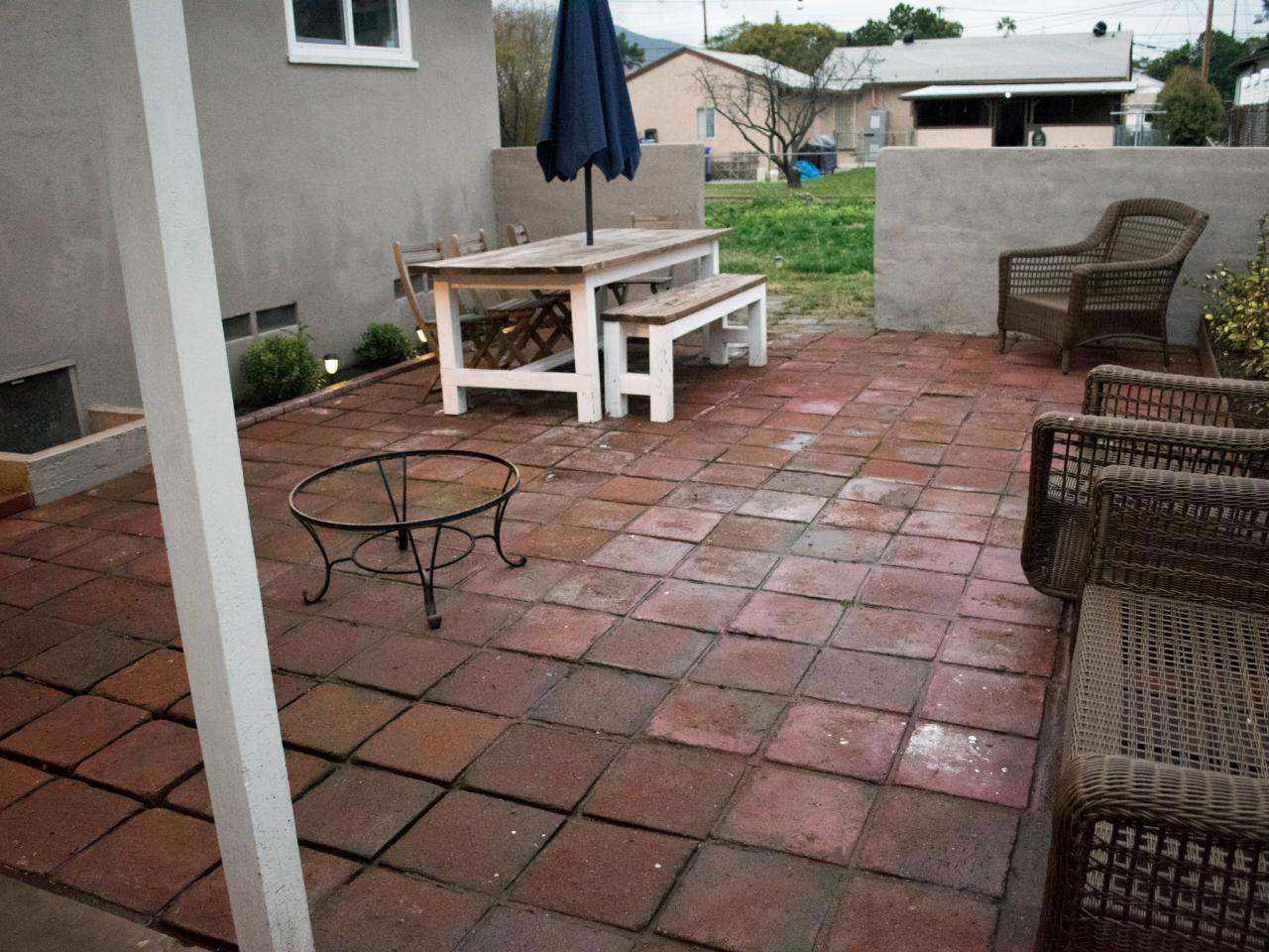 After - How To Clean Brick And Concrete With A Pressure Washer DIY
