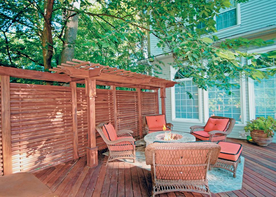 Design ideas for outdoor privacy walls screen and for Patio privacy screen